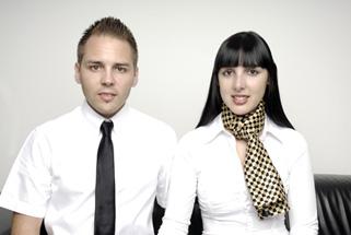 Chris Kradolfer und Ramona Bonbizin